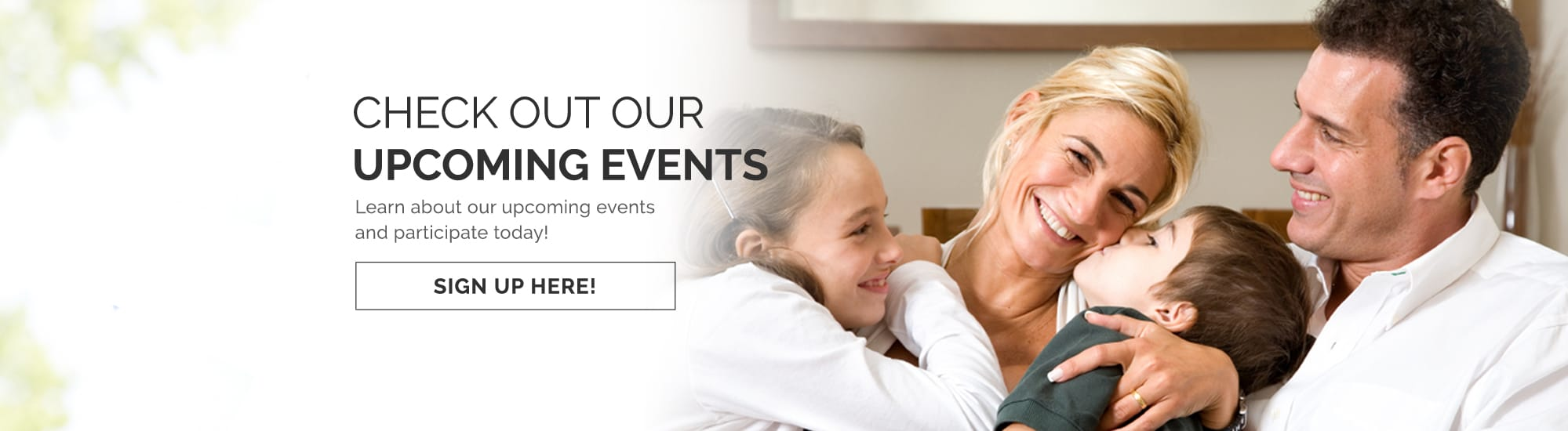 upcoming events slider