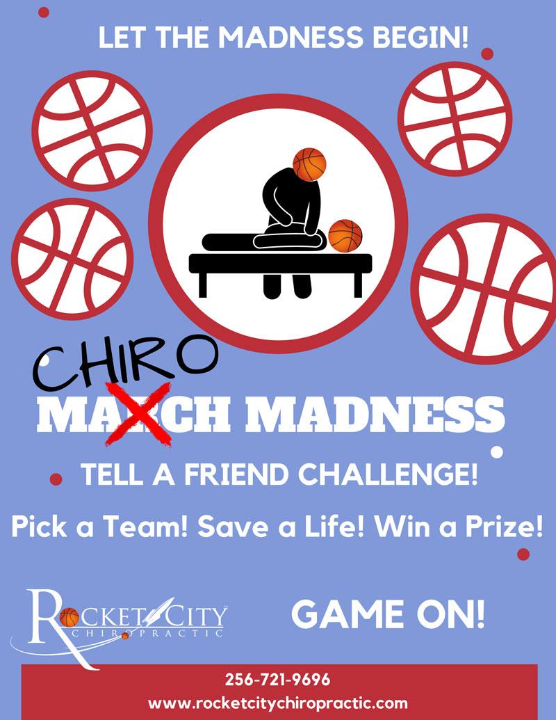 Chiro Madness at Rocket City Chiropractic